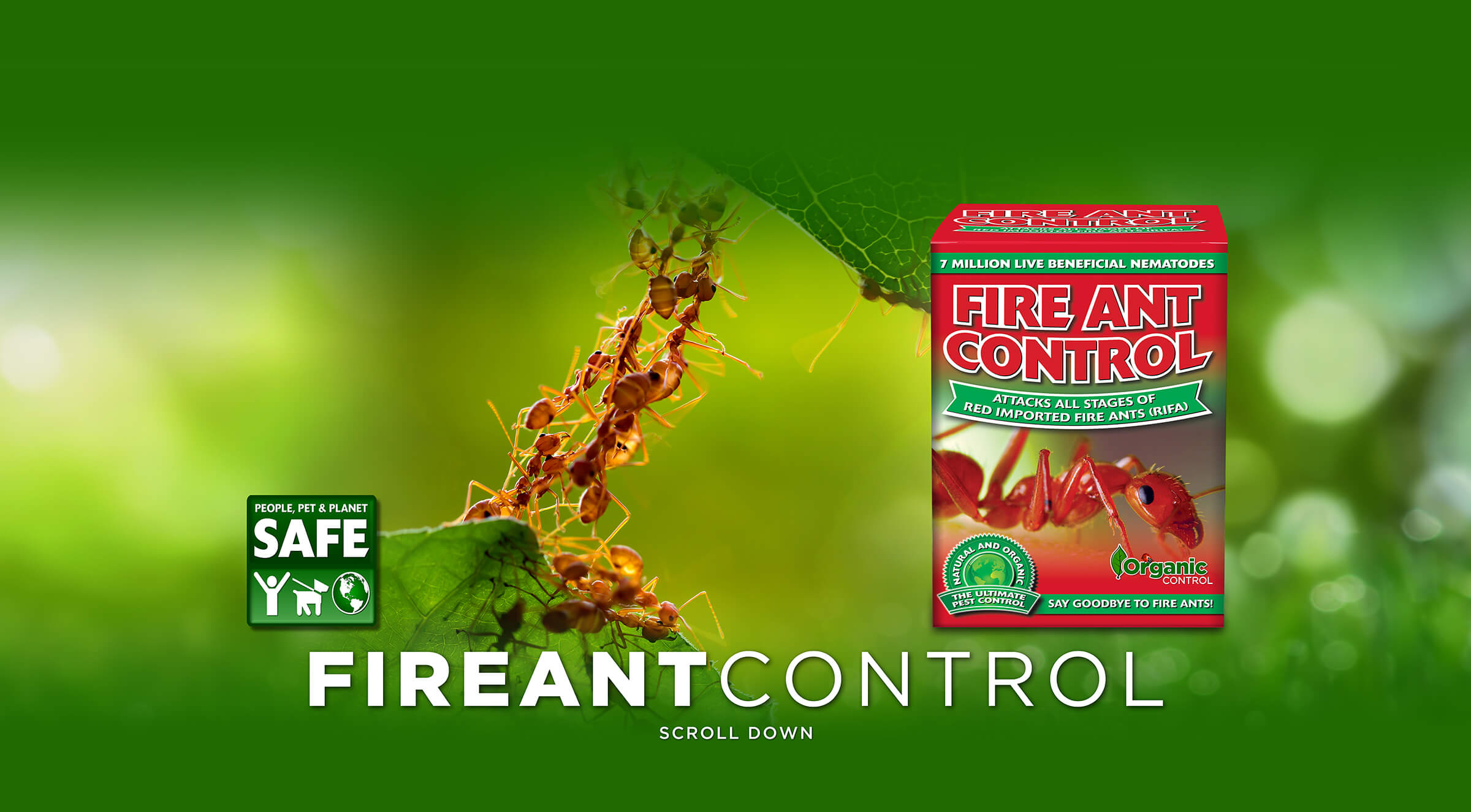 Fire Ant Control Organic Control Inc